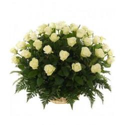 """Корзина """"51 роза"""""""
