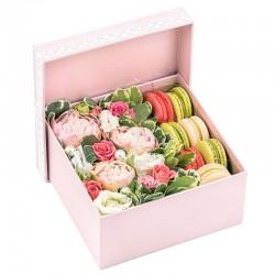 """Коробка с цветами """"Предвкушение"""""""