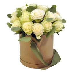"""Коробка с цветами """"Правильный букет"""""""