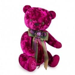 Медведь БернАрт пурпурный, 30 см