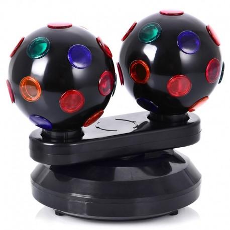 Диско-шар 184 настольный, 2 лампы
