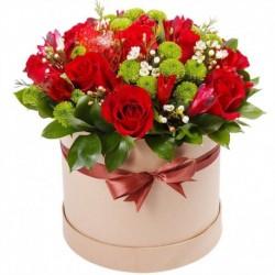 """Коробка с цветами """"Рим"""""""