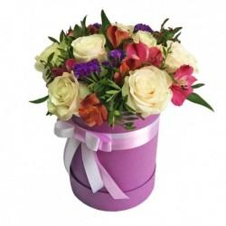 """Коробка с цветами """"Элегия"""""""