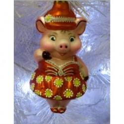 Свинка в упаковке  14см