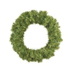Венок новогодний - 1 зеленый, d-50 см