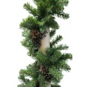 Гирлянда Рождественская-14 с шишками