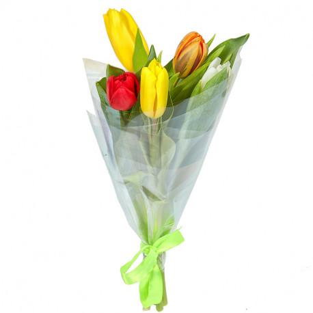 """Букет """"5 тюльпанов"""""""