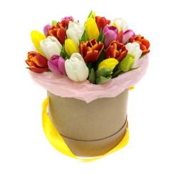 "Коробка ""Тюльпаны в коробке"""