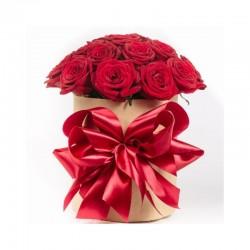 "Коробка с цветами ""Букет роз в коробке"""