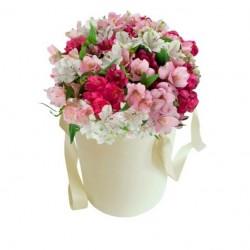 """Коробка с цветами """"Романтика"""""""