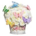 """Коробка с цветами """"Райские бабочки"""""""