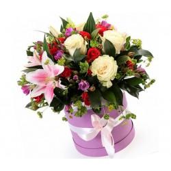 """Коробка с цветами """"Цветочное разнообразие"""""""