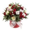 """Коробка с цветами """"Хлопковый рай"""""""