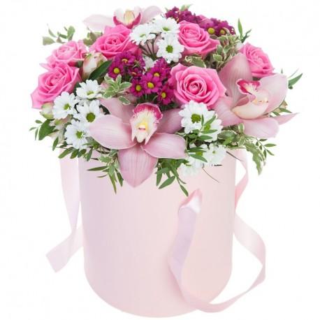 """Коробка с цветами """"Для тебя"""""""